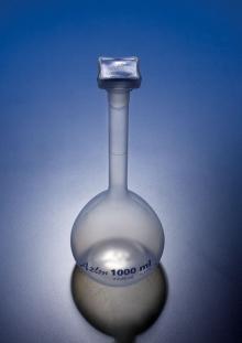 בקבוקי מדידה מפלסטיק